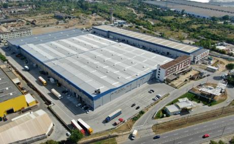 Southern Industrial Park inchirieri spatii de depozitare Craiova sud vedere acces DN