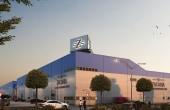 Southern Industrial Park inchirieri spatii de depozitare Craiova sud vedere fatada