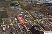 Domnesti Business Park inchiriere hala Bucuresti vest vedere din satelit amplasare