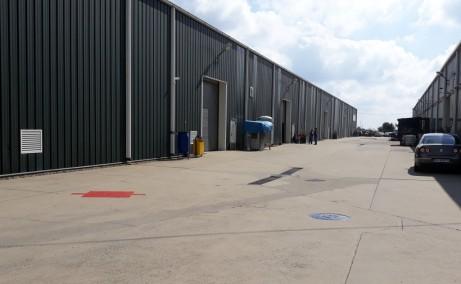 Dibo Industrial Park inchirieri depozite Ploiesti  sud usi acces auto