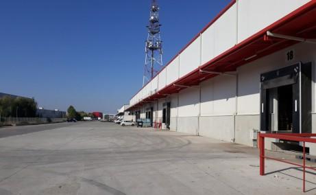 OTTER Distribution inchiriere spatiu depozitare Bucuresti vest imagine laterala acces usi auto