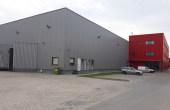 Aggresione Industrial Park inchiriere spatiu depozitare Bucuresti vest vedere fatada