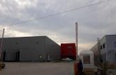 Aggresione Industrial Park inchiriere spatiu depozitare Bucuresti vest vedere laterala