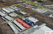 Aggresione Industrial Park inchiriere spatiu depozitare Bucuresti zona logistica vedere din satelit