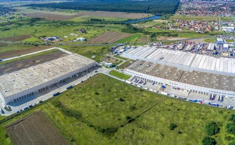 WDP Parc Industrial Timisoara inchiriere parcuri industriale Timisoara nord vedere ansamblu cladiri