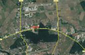 Inchiriere depozit frigorific Bucuresti, zona Otopeni, localizare harta