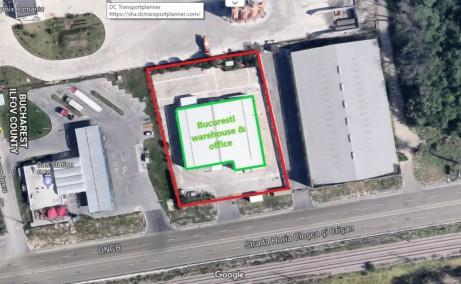 Hala Temperatura Controlata - Otopeni hale industriale de vanzare Bucuresti nord delimitare spatiu