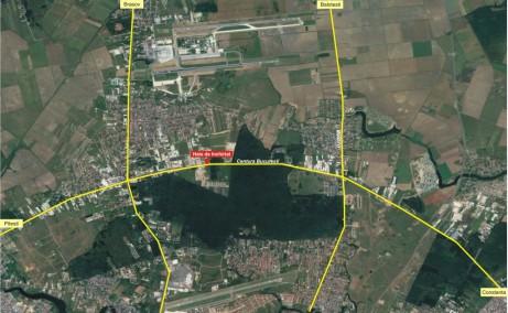 Hala Temperatura Controlata - Otopeni hale industriale de vanzare Bucuresti nord localizare vedere