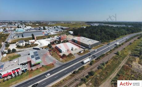 Hala Temperatura Controlata - Otopeni hale industriale de vanzare Bucuresti nord, vedere laterala