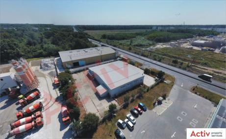 Hala Temperatura Controlata – Otopeni hale industriale de vanzare Bucuresti nord, poza curte interioara