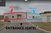 Hala Temperatura Controlata - Otopeni hale industriale de vanzare Bucuresti nord interior intrarea depozit