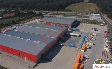 Pantelimon Logistic Center  inchiriere spatiu de depozitare Bucuresti est imagine platforma exterioara