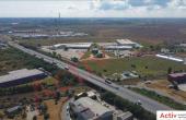 Mega Company Chiajna inchiriere spatiu de depozitare Bucuresti vest imagine acces din drum principal
