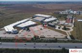 Mega Company Chiajna inchiriere spatiu de depozitare Bucuresti vest vedere parcare auto