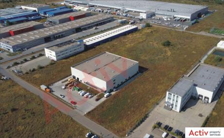 Spatii industriale Litera inchiriere spatiu depozitare Bucuresti vest vedere laterala