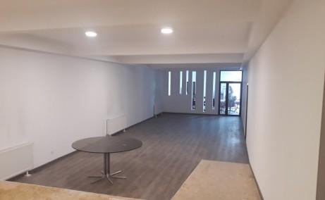 Showroom de inchiriat inchiriere proprietati industriale Timisoara sud vedere birouri interior
