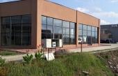 Showroom de inchiriat inchiriere proprietati industriale Timisoara sud vedere lateral dreapta- pavaj finalizat