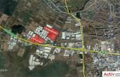 CTPark Bucuresti inchiriere spatii de depozitare Bucuresti vest vedere logistica din satelit