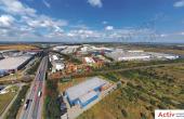 CTPark Bucuresti inchiriere spatii de depozitare Bucuresti vest vedere acces autostrada