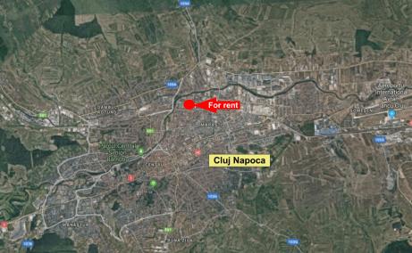 Hala Piata 1 Mai -Clujinchirieri hale cluj nord localizare harta