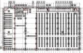 ML Logistic Parksinchiriere spatii depozitare Pitesti nord  plan hala