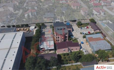 Hala industriala Pantelimon spatiu de depozitare Bucuresti est imagine stadiu constructie hala industriala
