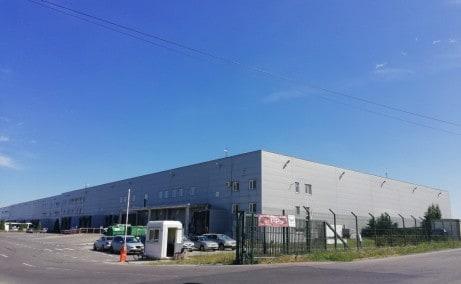 CTPark Chitila inchiriere spatiu depozitare Bucuresti nord-vest vedere laterala intrare