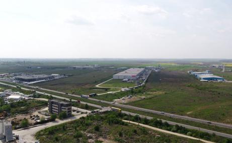 CTPark Chitila inchiriere spatiu depozitare Bucuresti nord-vest vedere panoramica
