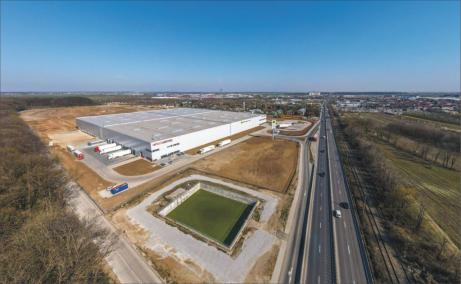 CTP Bucuresti Nord spatii de productie sau depozitare de inchiriat Bucuresti nord, vedere fatada
