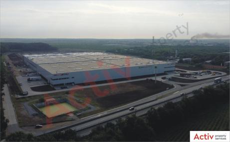CTPark Bucharest North - industrial park under development