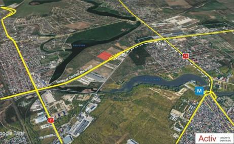 LIFTCON Mogosoaia - spatiu depozitare Bucuresti nord-vest vedere localizare harta Bucuresti detaliu