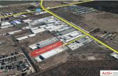 Triton International Cargo platforma betonata inchiriere Bucuresti nord localizare proprietate google