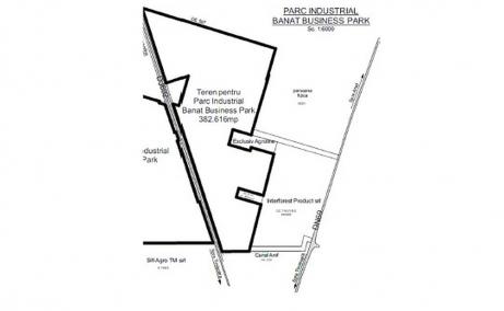 Proprietate de vanzare - Banat Business Park Sanandrei - plan constructii