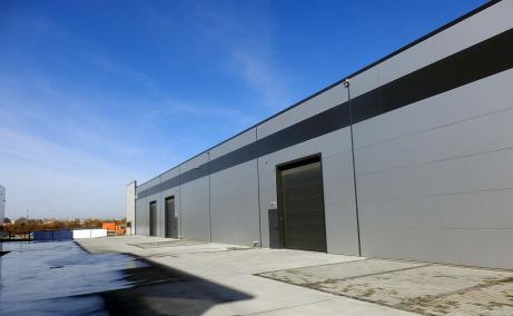 Hale de inchiriat in Promax Industrial Park, Bucuresti Nord - vedere fatada laterala