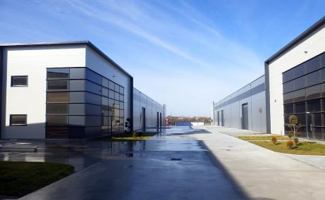 Hale de inchiriat in Promax Industrial Park, Bucuresti Nord - vedere acces hale