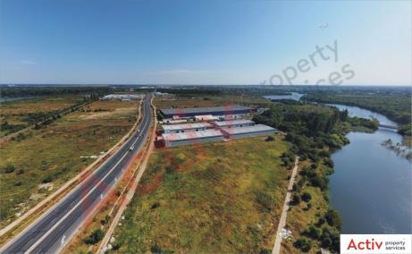 Hale de inchiriat in Promax Industrial Park, Bucuresti Nord - vedere laterala parc logistic