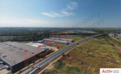 Hale de inchiriat in Promax Industrial Park, Bucuresti Nord - vedere laterala hale