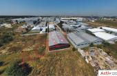 Hala de Vanzare Bucuresti Nord, zona Otopeni – Avram Iancu 11A, vedere panoramica cladire industriala