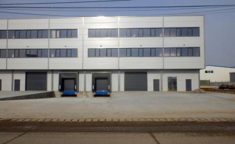 Spatii de inchiriat AIVA Warehouse, Bucuresti est - vedere fatada