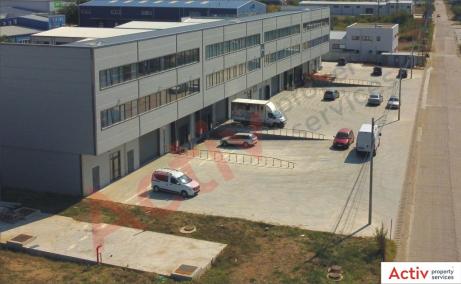 Spatii de inchiriat AIVA Warehouse, Bucuresti est - imagine acces auto