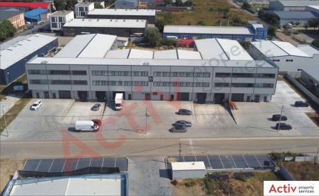 Spatii de inchiriat AIVA Warehouse, Bucuresti est - vedere fatada cladire