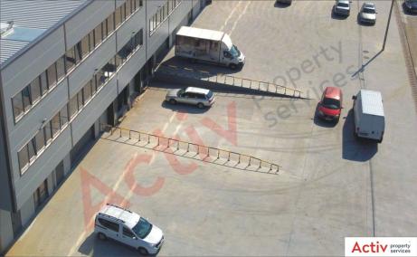 Spatii de inchiriat AIVA Warehouse, Bucuresti est - poza rampe incarcare tir