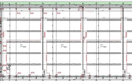 Hala depozitare si arhivare de inchiriat in Timisoara, plan hala