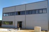 Hala de vanzare in  Bucuresti est, Vitol Logistic Park, vedere fatada in constructie