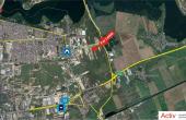 Hala de vanzare in  Bucuresti est, Vitol Logistic Park, localizare gogle maps