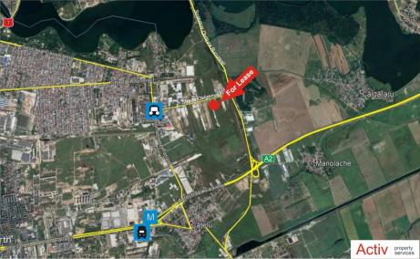 hala vanzare Bucuresti est, Vitol Logistic Park, localizare harta