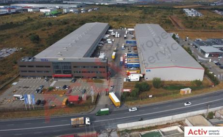Spatii Industriale de inchiriat Bucuresti vest, Key Logistic Center - vedere acces parc logistic