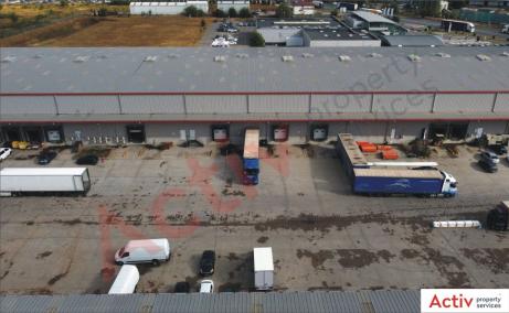 Spatii Industriale de inchiriat Bucuresti vest, Key Logistic Center - poza rampe incarcare TIR