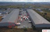 Spatii Industriale de inchiriat Bucuresti vest, Key Logistic Center -imagine curte interioara parcare