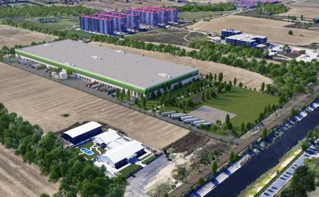 Industrial hall for rent in Dambovita Logistic Park